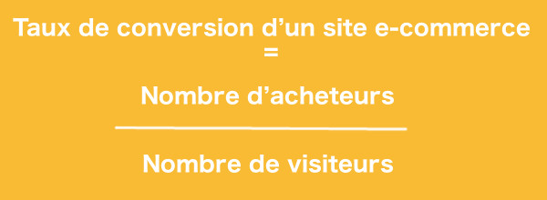 Calcul du taux de conversion